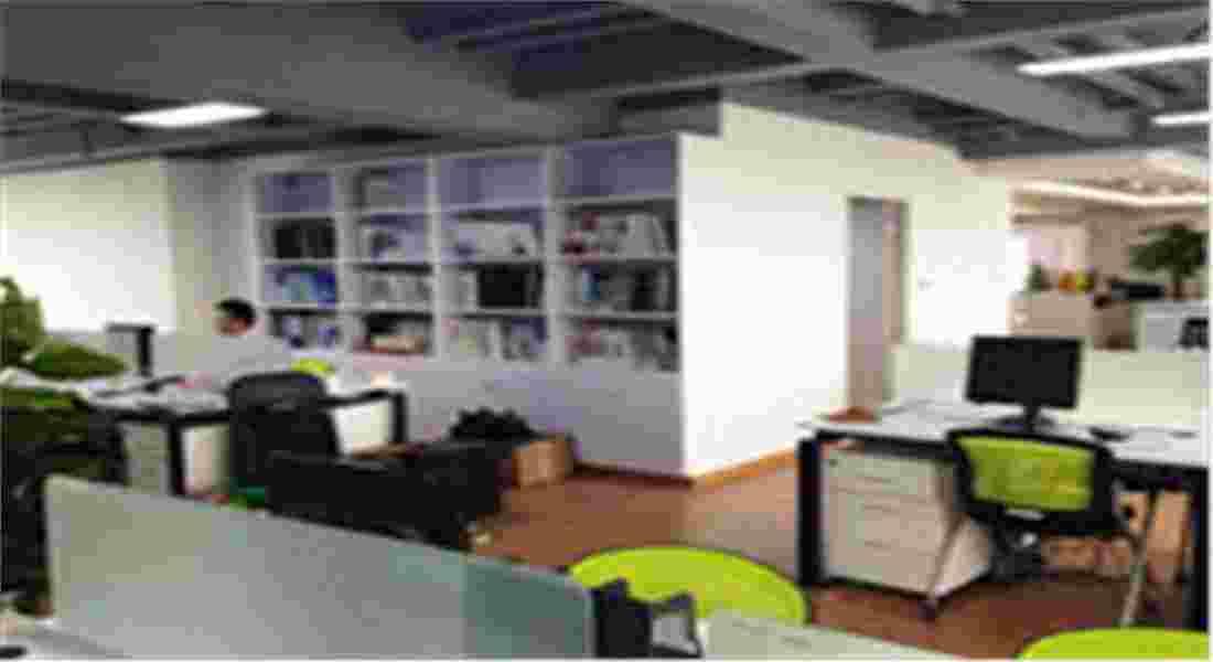 【日新环境地源热泵】办公室一角