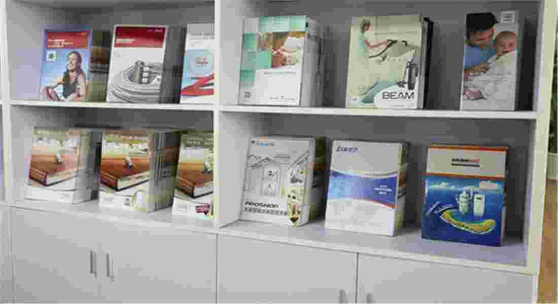 日新环境地源热泵系统公司阅览中心