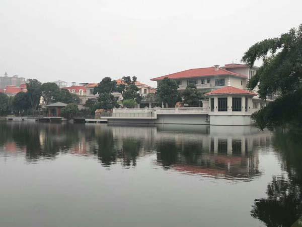 地源热泵系统 —— 广州金海岸花园梓园别墅项目