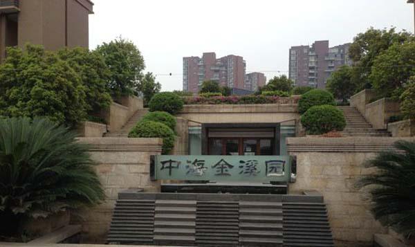 风冷热泵系统:中海金溪园项目