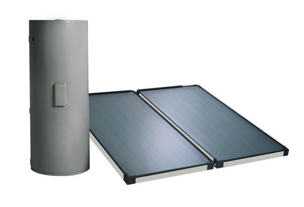地源热泵空调系统集成-太阳能集热板